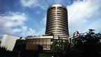 Der Banken-Kontrollturm in Basel.