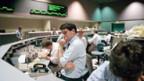 Ratlose Händler beim Börsencrash vor 25 Jahren.