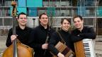 Das Quartett bArde aus der Innerschweiz.