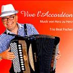 CD-Cover «Vive l'accordéon» von Beat Fischer