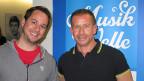 Marc Trauffer besucht Leonard in der Hit-Welle.