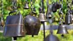 Die Verlockung die Glocken des Klangwegs zum Klingen zu bringen ist gross.