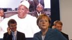Bundeskanzlerin Angela Merkel am Afrika-Gipfel.