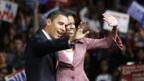 Obama mit Ehefrau Michelle
