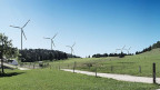Windkraftwerk Grenchenberg