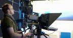 Kameramann von Tele M1 bei der Arbeit.