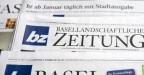 Titelblätter der bz Basel und bz Basellandschaftlichen Zeitung.