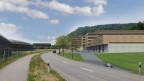 Visualisierung Innovationspark in Villigen
