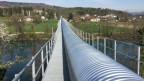 Die zwei Kilometer lange Förderanlage wurde am Donnerstag eingeweiht.