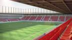 Animation des Stadions Aarau