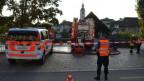 Das Feuer auf der alten Hozbrücke in Olten konnte dieses Mal schnell gelöscht werden.