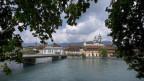 Blick über die Aare auf Solothurn
