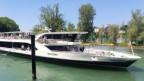 Das neueste Schiff der Flotte macht in Rheinfelden den Auftakt: Der Rhystärn legt an.