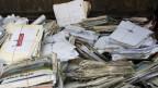 Die Papiersammlung wurde vielerorts abgesagt oder verschoben.
