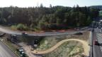 Die neue Autobahneinfahrt von Lenzburg in Richtung Zürich ist nun in Betrieb.