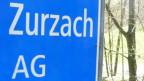 Ortsschild Zurzach.
