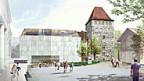 So soll das erweiterte Stadtmuseum aussehen. Das Volk sagte bereits 2009 Ja dazu. Nach Einsprachen zum geänderten Projekt kam das Ganze nun im Einwohnerrat durch.