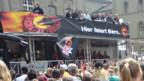 SCB Meisterfeier auf dem Bundesplatz