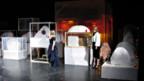 Installation von 'Lutz & Guggisberg' am Autorenspektakel des Berner Stadttheaters