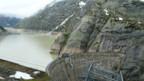 einer von drei Stauseen auf der Grimsel