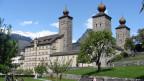 Das Stockalperschloss, Sitz des Stadtpräsidenten von Brig.