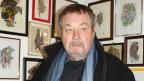 Klaus Anderegg kritzelte oft während Sitzungen - jetzt stellt er seine Werke aus.
