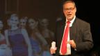 Auch als Comedian nicht verlegen: Berns Stadtpräsident Alexander Tschäppät.