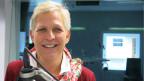 Ella de Groot beim Gespräch im SRF Radiostudio.