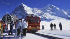 Die Züge der Jungfraubahn mussten 2013 einen grossen Andrang bewältigen.