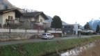 Das betroffene Quartier Turtig in der Gemeinde Raron.