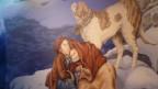 Die Legende lebt weiter: Barry findet verirrte Berggänger, bellt um Hilfe und rettet sie.