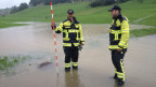 Überflutete Felder