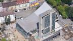 Das Kongresshaus prägt schon heute das Bieler Stadtbild.