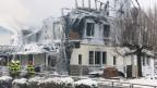 Gasthof Kaiseregg in Plaffeien abgebrannt