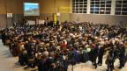 Fast 1000 Personen füllten die Turnhalle in Giffers.