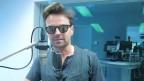 Florian Ast zu Gast im SRF-Radiostudio Bern.