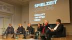 Die Leitung von Konzert Theater Bern.