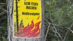 Das Feuerverbot im Verwaltungskreis Thun wurde aufgehoben.