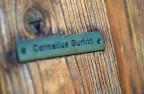 Das Namensschild von Cornelius Gurlitt ist im November 2013 an dessen Haustüre in Salzburg zu sehen