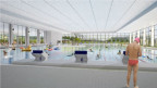 Projekte aus anderen Städten (im Bild Uster ZH) geben einen Eindruck, wie die Schwimmhalle dereinst aussehen könnte. ZVG
