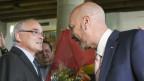 Mit Pierre-Alain Schnegg (links) holten die Bürgerlichen die Mehrheit in der Regierung.