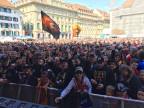 Tausende feiern auf dem Bundesplatz den SCB-Meistertitel