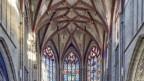 Chorgewölbe des Berner Münsters.