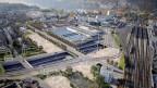 So ist der neue Autobahnabschnitt in der Stadt Biel geplant.
