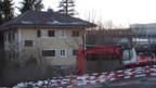 Das Haus der Familie Güdel wird bald abgerissen