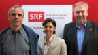 Die drei Kandidierenden für das Gemeindepräsidium Riehen.