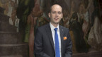 Joël Thüring, Präsident des Grossen Rats.