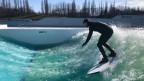 Auf dem Rhein sollen Surfer schon bald ihren Sport zelebrieren können