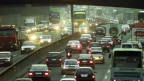 Verstopfte Autobahn