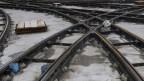 Die Gleise am Centralbahnplatz müssen schnell erneuert werden